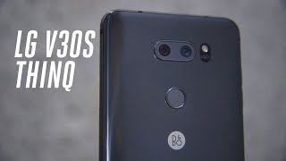 LG V30S ThinQ first look