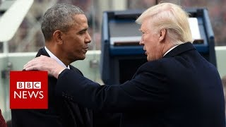 Trump denigrates Obama over false fallen soldier claim - BBC News