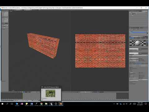 Adding a textured object from Blender to Unity