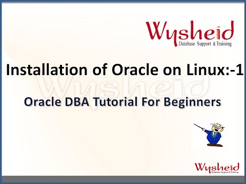 Oracle 11g installation on linux part 1| Oracle Tutorial For Beginners | Oracle DBA  Videos