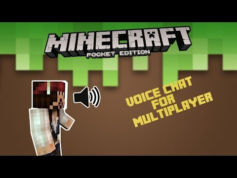 How to Voice chat in Minecraft pe All Version  | how to create a minecraft pe server with voice chat