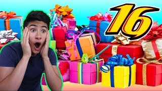 Download SURPRISING BROTHER with Dream Gifts for his 16th BIRTHDAY!!! Video