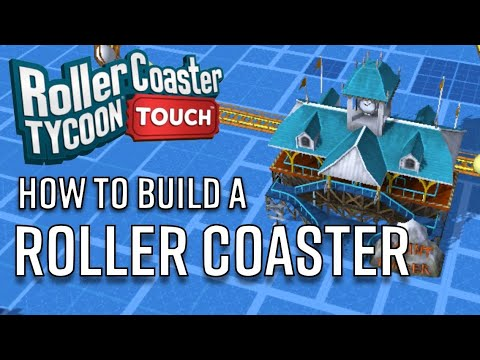 How To Build a Roller Coaster | RollerCoaster Tycoon Touch (IOS & Android) | #4