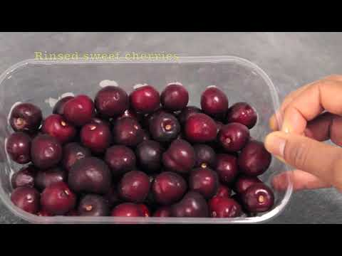 How to Make Cherry Juice | Cherry Juice Benefits | Easy Way to Pit Cherries
