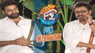 F2 Sankranthi Interview - Venkatesh, Varun Tej, Tamannaah, Mehreen   Anil Ravipudi