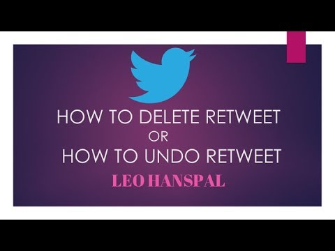 HOW TO DELETE RETWEETS ON TWITTER || WITH 1 CLICK ||