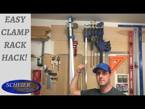 Easy Quick Clamp Rack