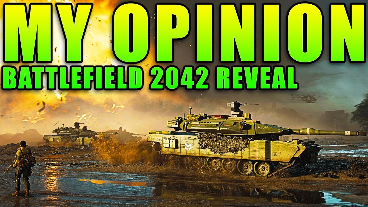 My Opinion of the BATTLEFIELD 2042 Reveal Trailer