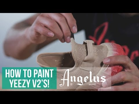 Yeezy Boost 350 V2 | How to paint fabric materials | Angelus Paint
