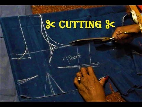 Saree blouse cutting tutorial in Kannada | ಸೀರೆ ಕುಪ್ಪಸ ಕತ್ತರಿಸುವ ಸರಳ ವಿಧಾನ - ಭಾಗ ೧