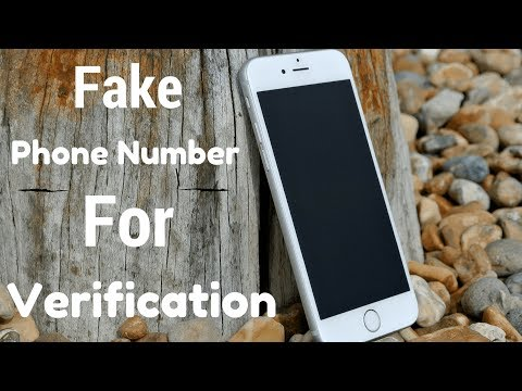 Get Free Fake Mobile Number For Online Verification