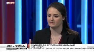 Battle for Number 10 Analysis - Sky News Debate