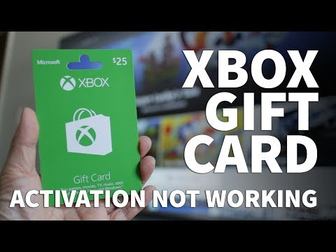 Xbox Gift Card Not Working – Xbox Gift Card Won't Redeem or Not Activating Needs Profile Address