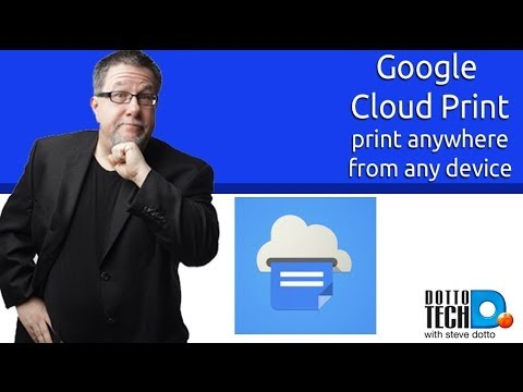 Google Cloud Print - Print Anywhere, From Anything