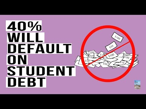 Millennials LOOK OUT! 40% of Students Can't Pay Back the $1.5 Trillion In Student Debt!