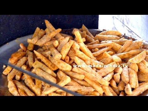 Chili Potato Recipe   How To Make Chilli Potato   DELHI STREET FOODS street food