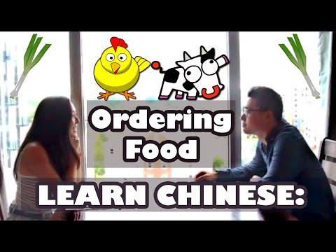 Order Chinese Food - Learn Chinese FAST - Everyday Mandarin with Cantonese