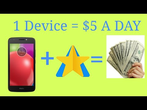How To Make $5 A Day With One Device | LEGIT | Doing Absolutely Nothing | 2018.!!!!!