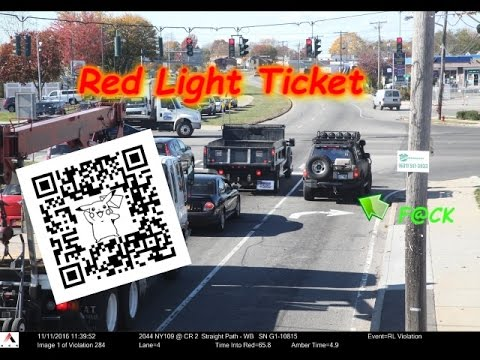 Red Light Ticket (November 11th, 2016)