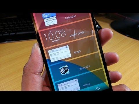 Lockscreen Widgets on Nexus 5