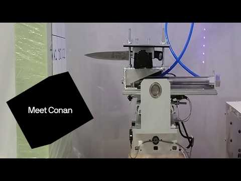 How a machine called Conan will help to investigate knife crime