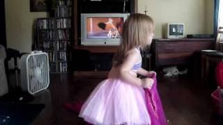 Belly Dancing 2-Year-Old Strikes Again!