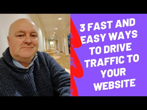 how to drive traffic to your website for free 2018  Ways To Increase Website Traffic For Free