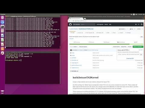Build Kernel and Modules - NVIDIA Jetson TX2
