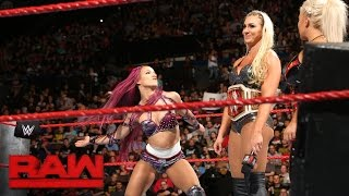 Sasha Banks wants her rematch against Charlotte: Raw, Sept. 26, 2016