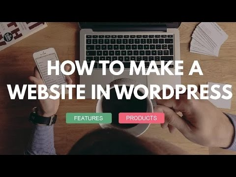 How to Make a Website with Wordpress 2016 - Tutorial for Beginners - Free Theme - Awesome