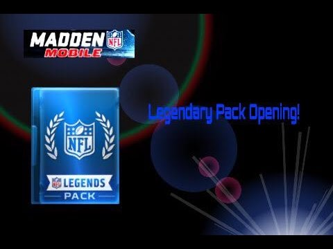 Legendary Pack Opening! We Pulled 2 Rookie Legends!! Madden Mobike