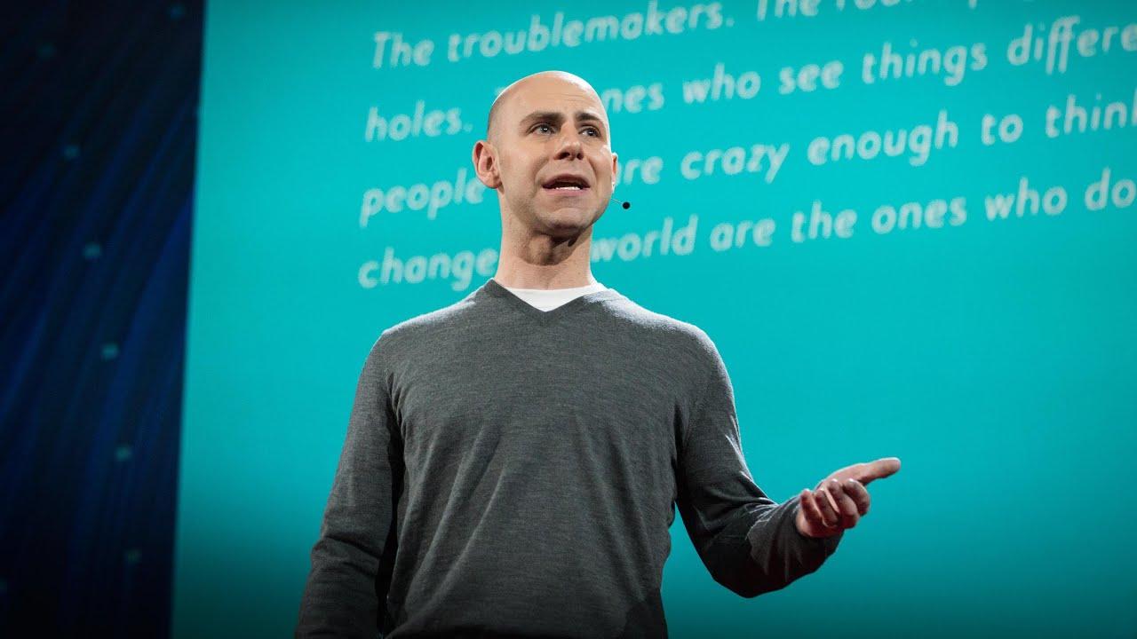 The surprising habits of original thinkers | Adam Grant