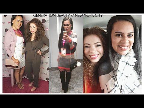 Generation Beauty NYC with Summer Kellsey Vlog
