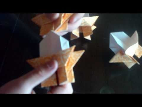 How to make a origami Pagoda