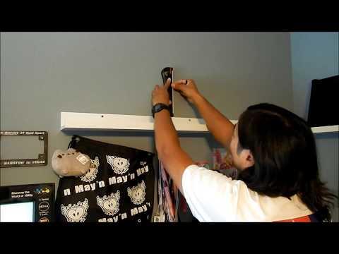HadesOmega How To: Ikea Mosslanda Coin Holder Shelf Part 1