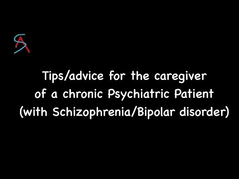 Tips for caregiver of a chronic Psychiatric patient (Psychosis/Bipolar) || Dr.Vikas