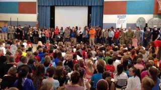 Middle Canyon Elementary Honoring our Veteran
