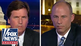 Tucker and Avenatti trade blows in explosive interview