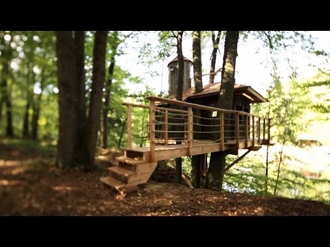 Pete Nelson's Protégé Builds a Perfect Treehouse | Treehouse Masters