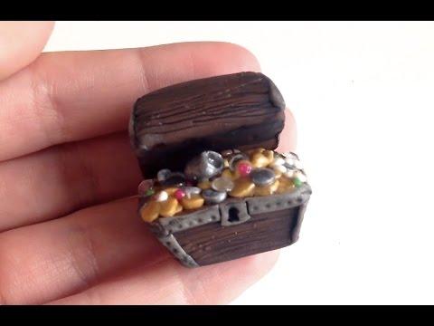 Treasure Chest DIY: Polymer Clay