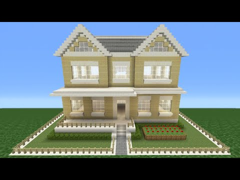 Minecraft Tutorial: How To Make A Suburban House - 5