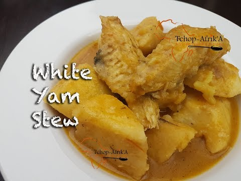 White yam stew recipe