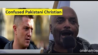 This Pakistani Christian Became A Tommy Robinson Cheerleader
