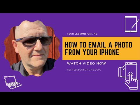 How To Email A Photo From Your iPhone