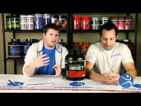 Optimum Nutrition Gold Standard 100% Whey Review - Supplementing.com