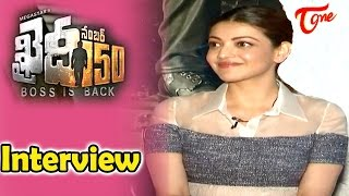 Khaidi No 150 Movie || Kajal Exclusive Interview || Chiranjeevi, Kajal Agarwal || #KhaidiNo150