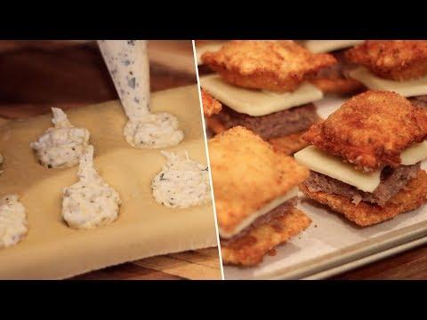 Fried Ravioli Sliders Review- Buzzfeed Test #108