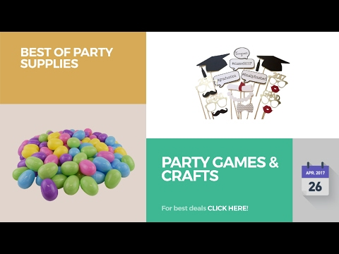 Party Games & Crafts Best Of Party Supplies