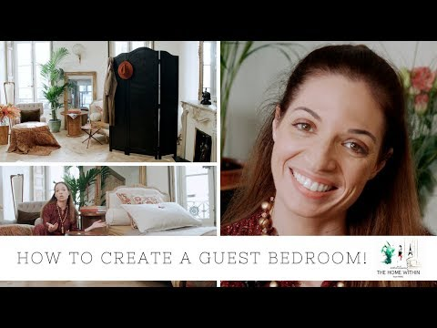 HOW TO CREATE A GUEST BEDROOM (WHEN YOU DON'T HAVE ONE)