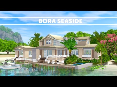 The Sims 3 - Speed Build house building - Bora Seaside